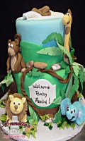 Celebrate your New Baby with this adorable Baby Shower Cake
