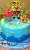 Celebrate Birthday with an Cake with your Favorite Character