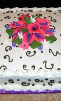 Celebrate your birthday with a nice and simple cake