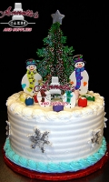 What better way to celebrate your holiday than with a holiday cake!
