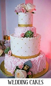 Caption- Wedding Cakes
