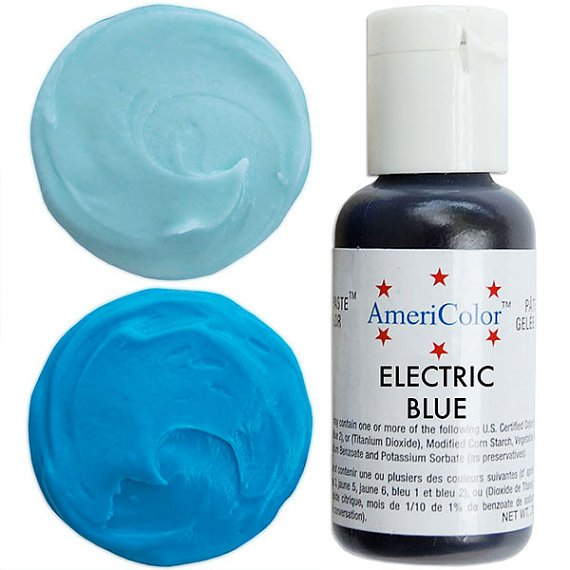 Blue Gel Food Color | Annette\'s Cakes and Cake Decorating Supplies