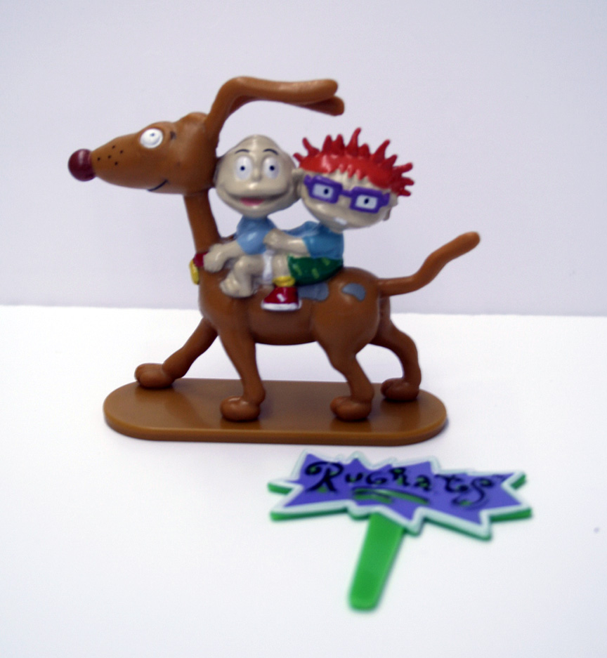 Cake Decoration Toys : Rugrats Toy Cake Topper Annette s Cakes and Cake ...