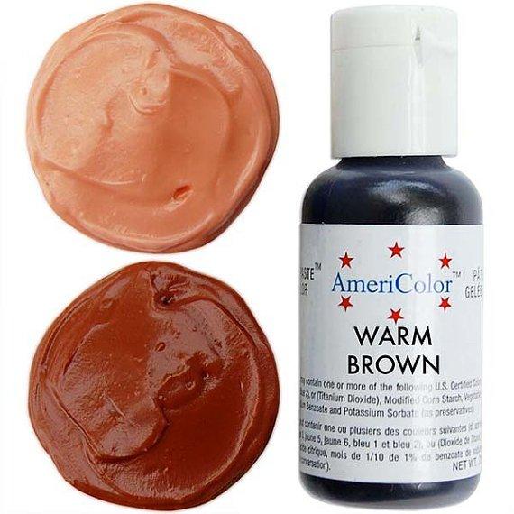 Brown Gel Food Color