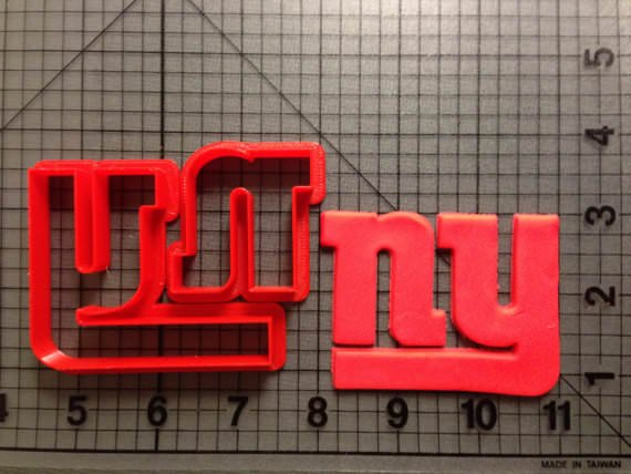 Ny Giants Logo Cutter New York 3 Inches Annettes Cakes And Cake