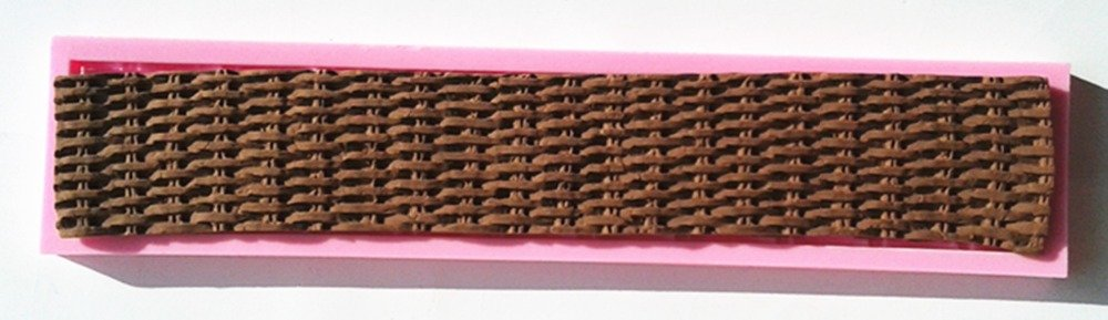 Basket Weaving Molds : Basket weave silicone mold annette s cakes and cake