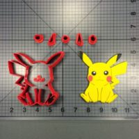 Pokemon Pikachu Cutter Set is shown along with intended result.