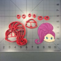 Shimmer and Shine - Shimmer cutter set is shown along with intended result.