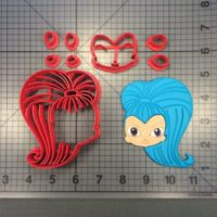 Shimmer and Shine - Shine 100 Cookie Cutter Set is shown along with intended result.